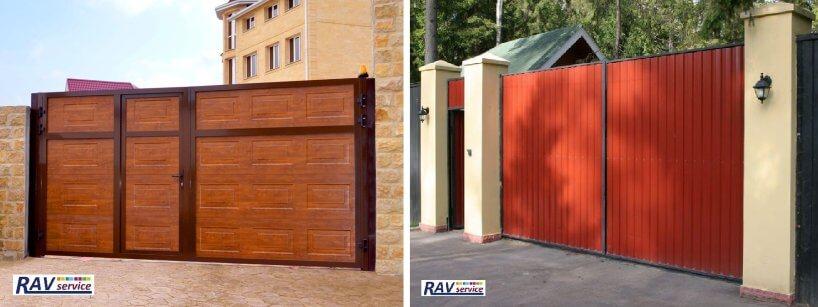 Автоматичні розпашні ворота Київ